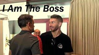 Real marid players meet new spain coach Luis Enrique