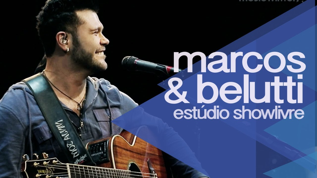 Domingo De Manhã Marcos Belutti No Estúdio Showlivre 2014 Youtube