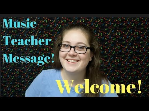 Welcome to Music Teacher Message