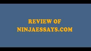 NinjaEssays.com Review | Essay Writing Service