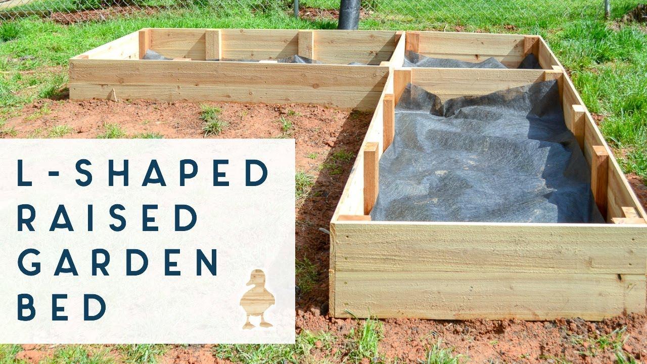 Diy Raised Garden Beds From Cedar Fence Pickets Youtube
