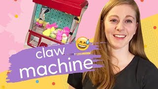 DIY Toy Claw Machine | Scrappy Robots with Simone Giertz