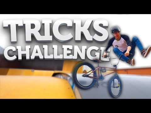 TRICKS CHALLENGE ! #1 feat Joyca