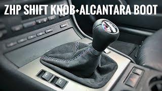 BMW E36 ALCANTARA  GEAR BOOT AND EBRAKE BOOT !