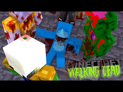 Minecraft THE WALKING DEAD - SHARKYS IMPOSSIBLE MISSION TO SAVE LITTLE KELLY AND LITTLE LIZARD !!!!