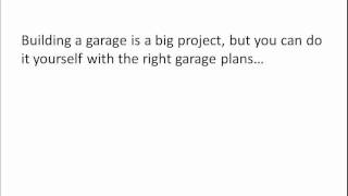 4 Tips For Building A Garage Using Garage Plans