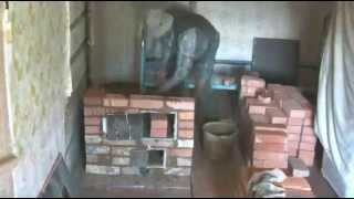 Rustic oven.Строим печку за 4.30 минуты....(за 4 тысячи рублей-чего хотите?Уровень искали-ненашли,и так сойдёт. http://soliaris2010.narod.ru/Pech_galanka_dlia_zimovia.html., 2012-07-20T18:25:15.000Z)