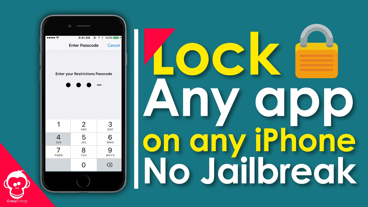 how to erase a locked iphone lock apps with passcode on any iphone no jailbreak 2017 18779