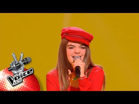 Maëlle - 'Havana' | Halve Finale | The Voice Kids | VTM