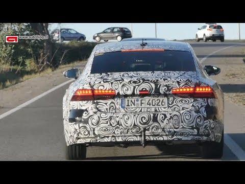 Spyvideo: achtervolging nieuwe Audi A6 en A7