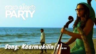 KARMUKILIL ( 1 ) | BACHELOR PARTY | VIDEO SONG | New Malayalam Movie Song | Nithya Menen | Asif Ali