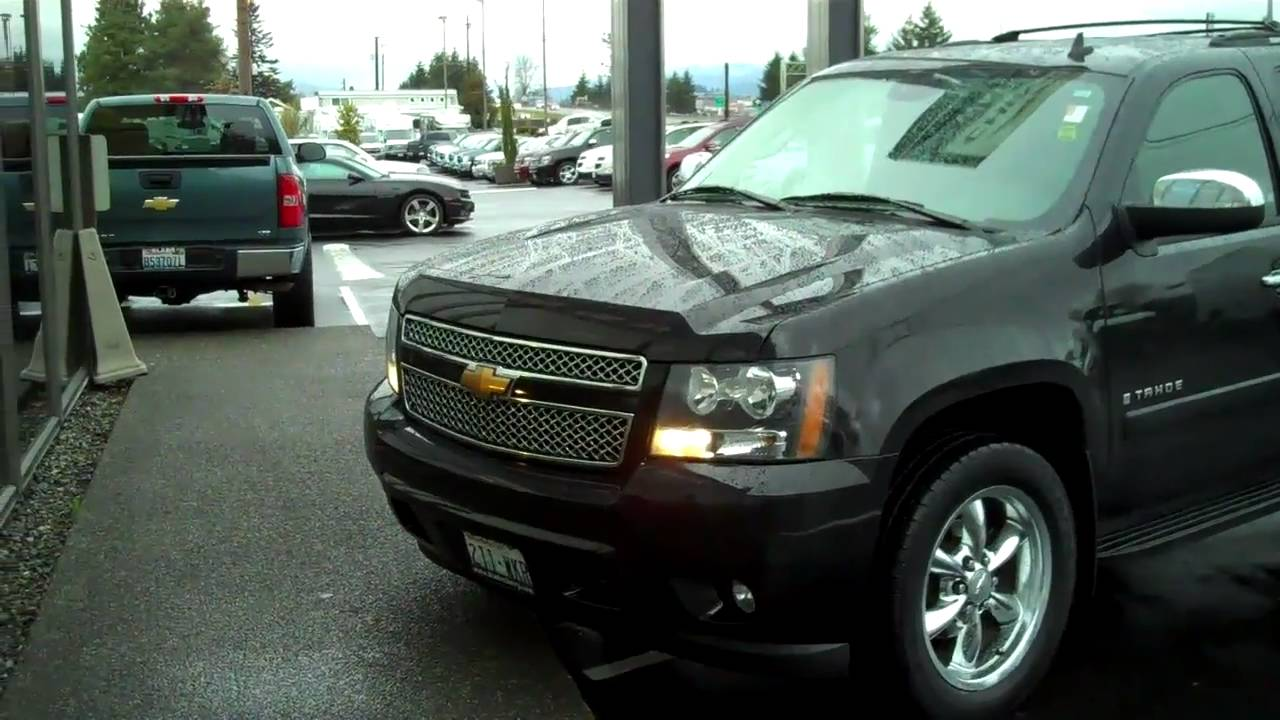 Everett Chevrolet >> 2007 Chevy Tahoe LTZ - YouTube