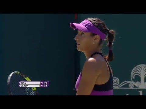 Volvo Car Open First Round   Caroline Garcia vs Irina-Camelia Begu   WTA Highlights