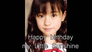 This is another birthday project, this time for Ayami Muto, former ...