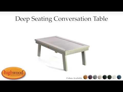 Adirondack Conversation Table AD-DSCT1