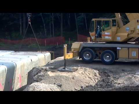 Hammond Minnesota Cement Culvert install Atkinson Construction