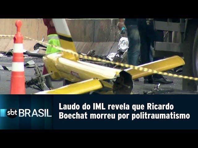 Laudo do IML revela que Ricardo Boechat morreu por politraumatismo | SBT Brasil (15/02/19)