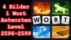 4 Bilder 1 Wort - Level 2596-2599 - Erreiche Level 2600! - Lösungen Antworten