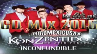 Konzentido De Afid Ferrer CD Mix |Inconfundible| 2015-Dj Rebelde Sax