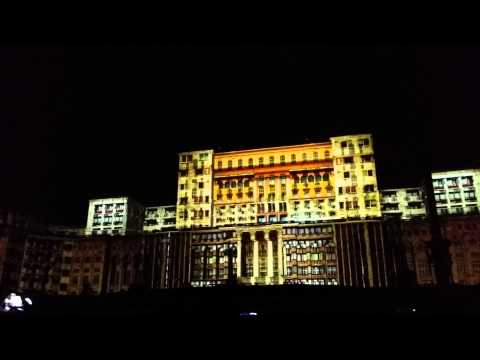 World's Best Projection Mapping - Bucharest Romania September 2014, Romania Team