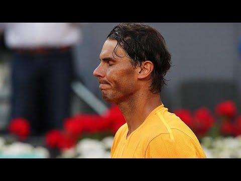 ATP Madrid: Nadal eliminato ai quarti da Thiem, Federer numero 1 del mondo