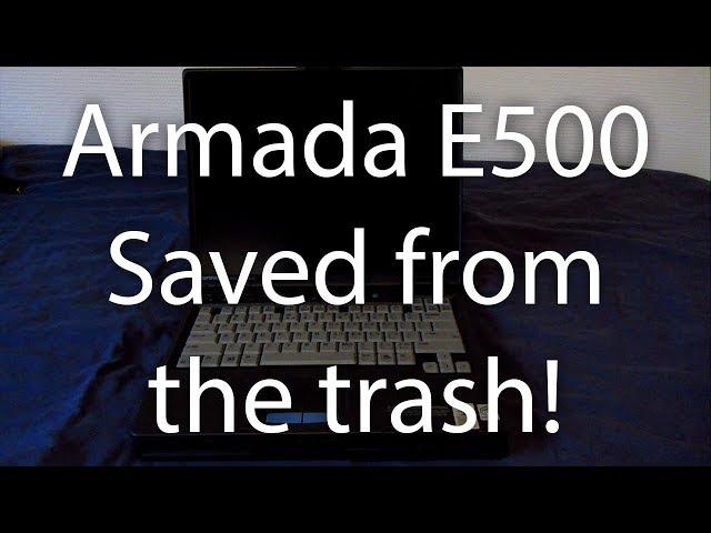 Compaq Armada E500 - Overview