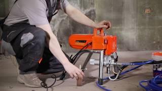 видео Оборудование для покраски металлоконструкций