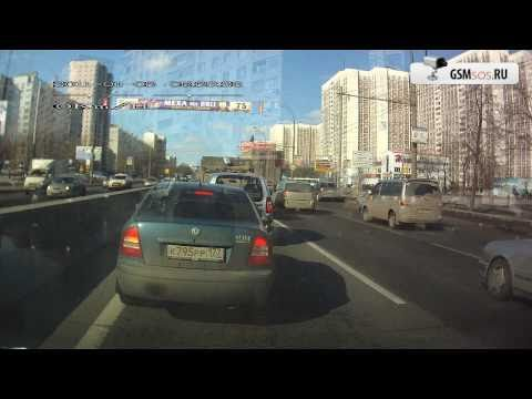 Автомобильный видеорегистратор DOD GS600 с GPS