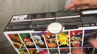 Unboxing de la Switch Super Smash Bros Ultimate bundle