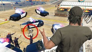 CAN YOU CALL THE COPS ON OTHER PLAYERS?? | GTA 5 THUG LIFE #255