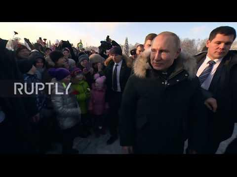 Russia: Putin honours