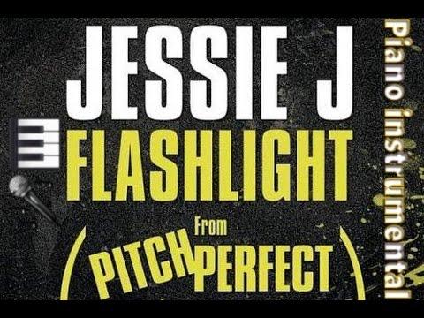 Jessie J - Flashlight || Piano Version (Male Karaoke/Instrumental) [Lower  Pitch]