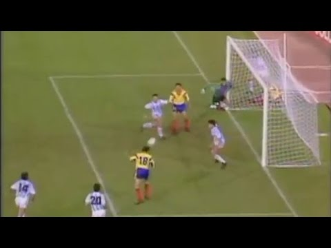 World Cup Italy '90: Argentina - România: 1-1 (rezumat)