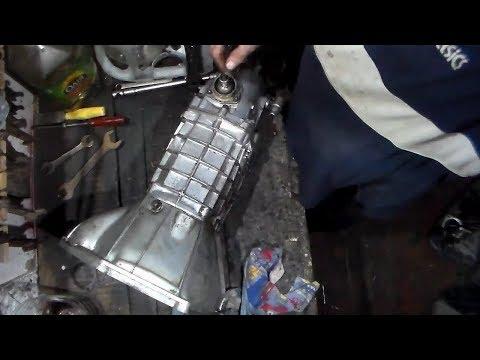 Ремонт кпп ваз 2106 своими руками видео