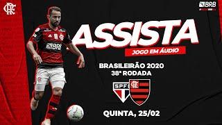 São Paulo x Flamengo AO VIVO na Fla TV   Brasileirão 2020