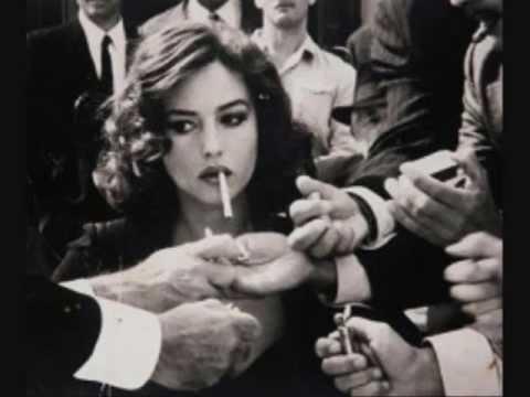 Smoke and Woman