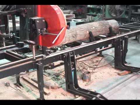 Horizontal Band Saw Mill In Action Artsteel Vfg 600 Doovi