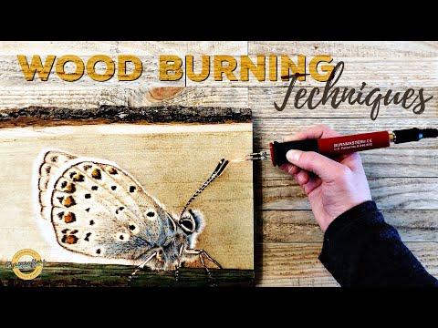 Wood Burning Techniques With Burnmaster Eagle Pro Wood Burner