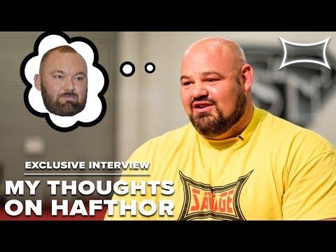 Brian Shaw Talks Hafthor Bjornsson & Pressures of Competing
