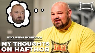 Brian Shaw Talks Hafthor Bjornsson & Pressures of Competing | Exclusive Interview