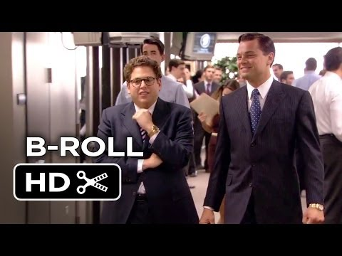 The Wolf Of Wall Street B-ROLL #1 (2013) - Leonardo DiCaprio, Jonah Hill Movie HD