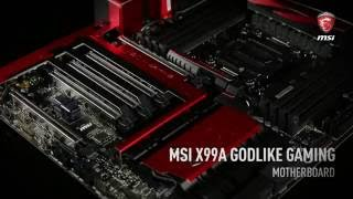 Gambar cover MSI X99A GODLIKE GAMING Features Introduction