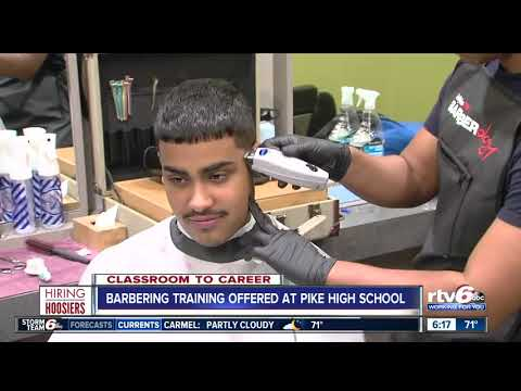Classroom to Career: Barbering training offered at Pike High School