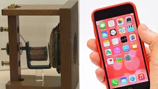 From Alexander Graham Bell to the iPhone 6 -  the history of the telephone in five objects