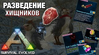 ВСЕ ПРО РАЗВЕДЕНИЕ ХИЩНИХ ЖИВОТНЫХ В ARK SURVIVE EVOLVED MOBILE!!! КАК разводить животных в ARK IOS