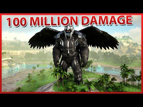 100 Million Damage! Prometheus Infernal Lord! | B34 Ark Tranformation Mod