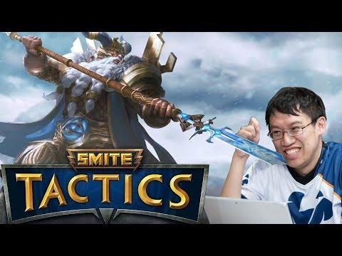 Hand of the Gods: SMITE Tactics - Hearthstone Meets XCOM