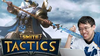 hand of the Gods : Smite Tactics Review and play through