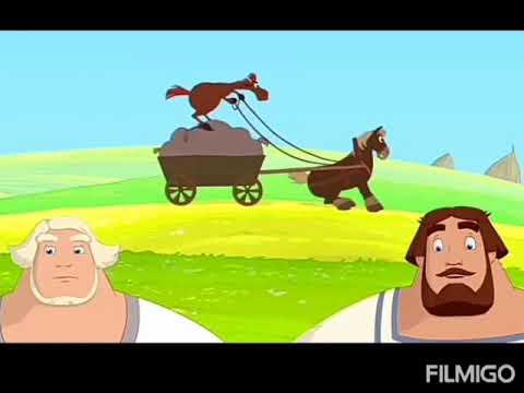 Смешные моменты мультфильма 3 богатыря наследница пристола.
