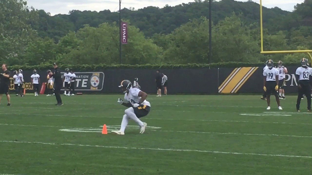 info for 5ce85 b959f Pittsburgh Steelers hit OTAs, Day 2